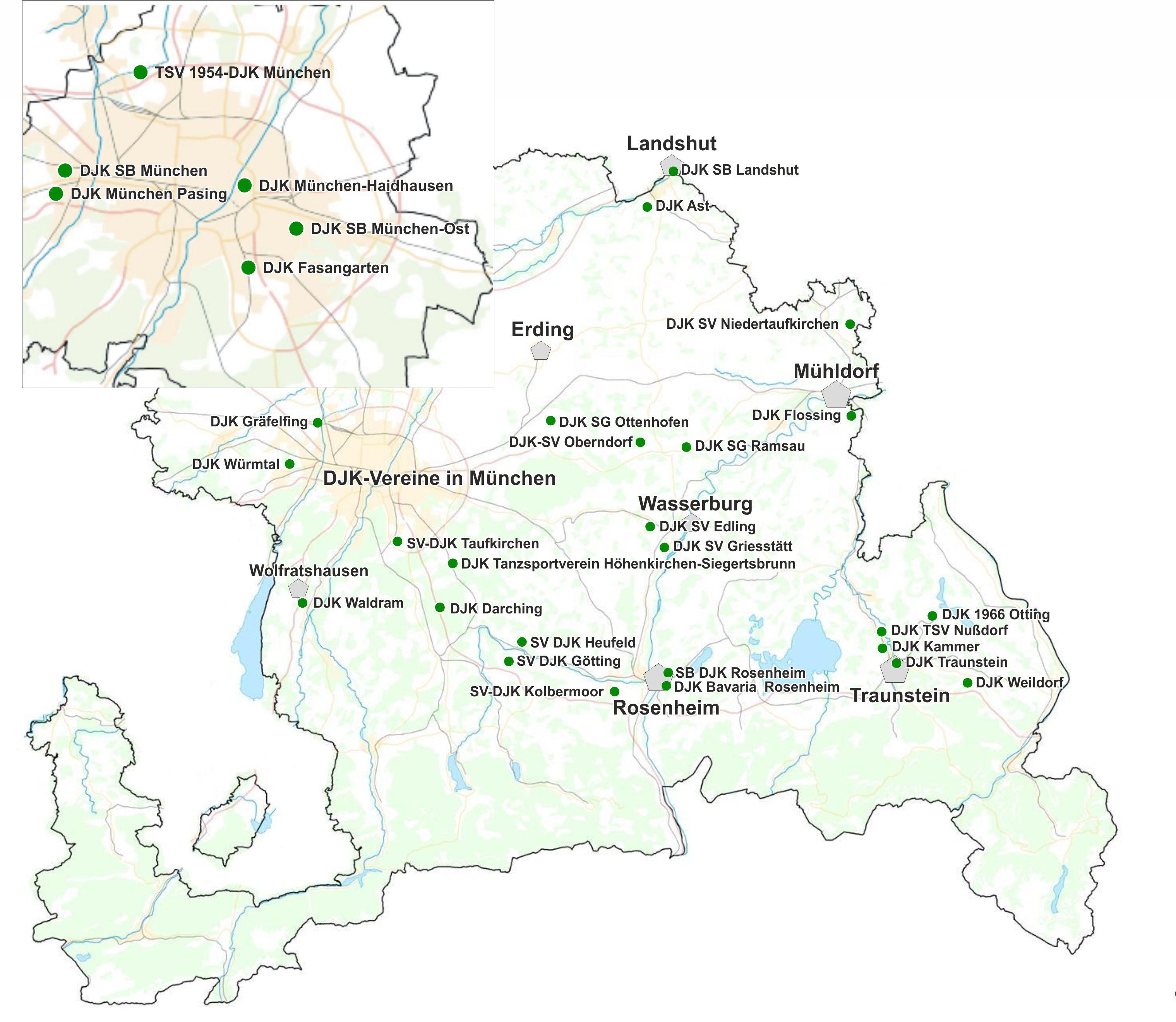 Djk Sportverband München Und Freising Die Vereine Im Dv